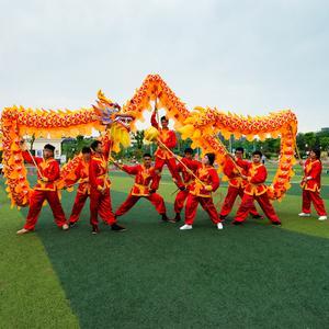 绵阳舞龙舞狮庆典 耍龙灯的习俗