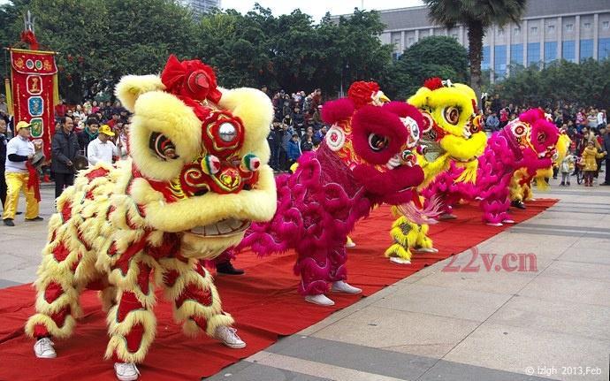 彭州舞狮演出电话 舞狮的历史发展渊源