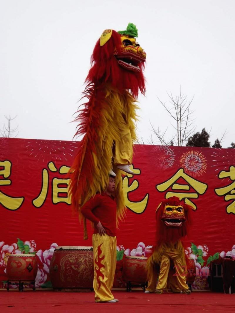 青白江舞狮舞龙南北方有哪些差异